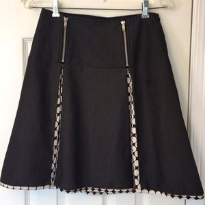 GUC Encore Skirt with contrast pleats